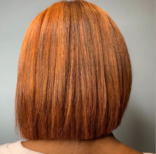 red hair color katy cypress tx by Nirvana